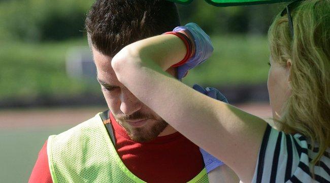 Nagyon megijedt a meccsen rosszul lett honvédos – interjú