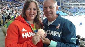 Az olimpiai bronzérmes Márton és edzőjemilliókat áldoz az atlétikai telepükre