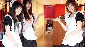 Bizarr fétis: szobalányok etetik a kávézó vendégeit
