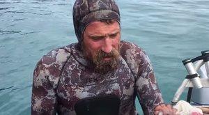 Undorító videó: így harapja le egy polip fejét a túlélő