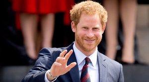 Ezért él rózsaszín falak közt Harry herceg