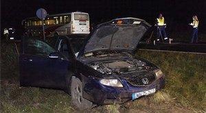 Borzalmas baleset: két autó és egy busz ütközött Győrszemerénél - fotók