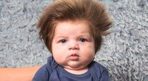 Ilyen hajjal hogy lehet születni?