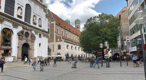 Magyar pénisz München óvárosában