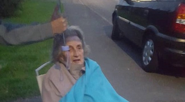 Döbbenet: 3 órát várt az esőben a mentőkre a törött lábú asszony