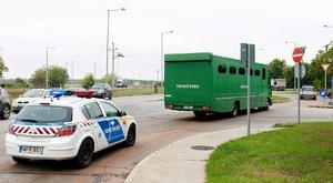 Tehervonaton bujkáló migránsokat kaptak el a magyar rendőrök