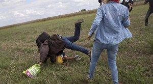 Durva, mit kapott a migránsrugdosó László Petra férje