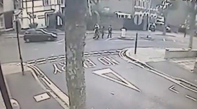 Métereket repült a levegőben az elgázolt család - sokkoló videó