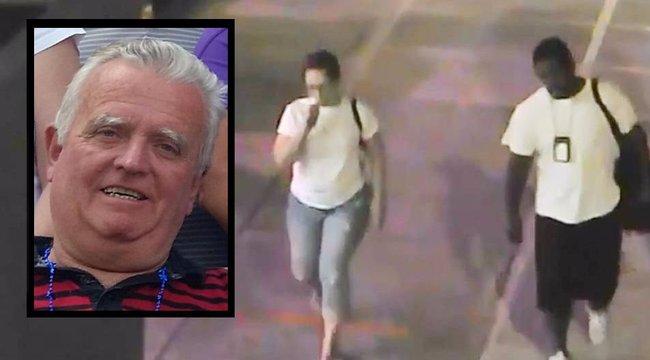 Egyetlen ütéssel gyilkolt, majd nyugodtan továbbsétált - videó