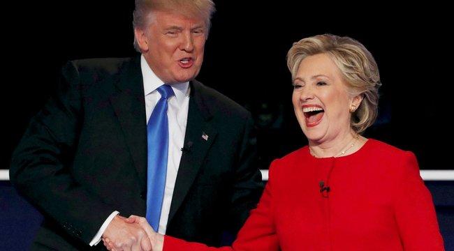 Trump perverz, Clinton kibírhatatlan