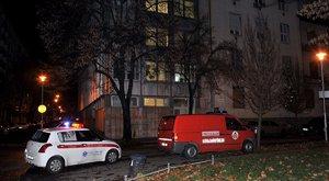 Meghalt egy ember az újbudai lakástűzben – képek