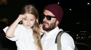 Balettre jár a lányával Beckham