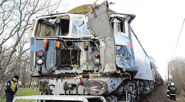 Nyúli vonatszerencsétlenség: próbálta menteni társa életét a masiniszta