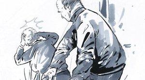 Süket és vak férfi verte agyon kalapáccsal a feleségét, mielőtt a metró elé ugrott