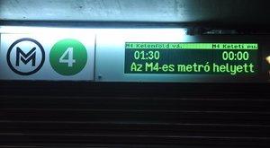 Ki kellett menekíteni az utasokat a 4-es metróból