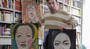 Bécsben ünnepelt festő lett a hajléktalan magyar