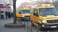 Kilenc embert szállítottak kórházba a metrók ütközése után