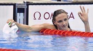 Hatalmas rekordot döntött meg Hosszú Katinka negyedik aranyérmével