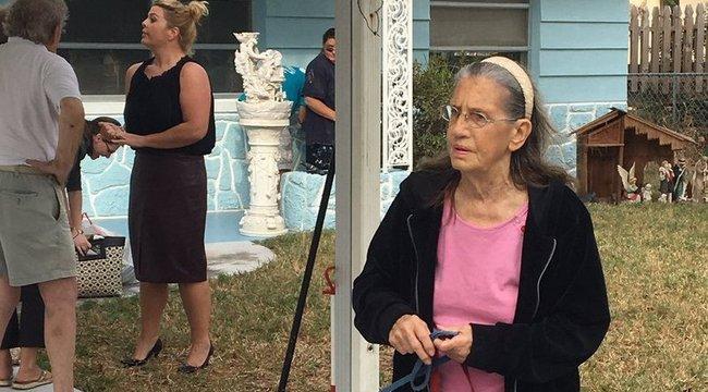 Hihetetlen, mit tetteka házából kilakoltatott idős néniért szomszédai