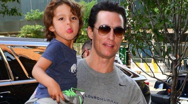 Matthew McConaughey pocakkal? Neje imádta