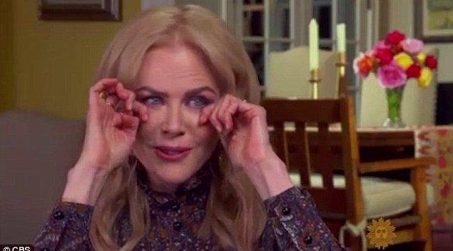 Nicole Kidmannél eltört a mécses