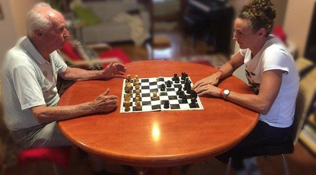 Sakk nélkül nem lenne ilyen sikeres Katinka