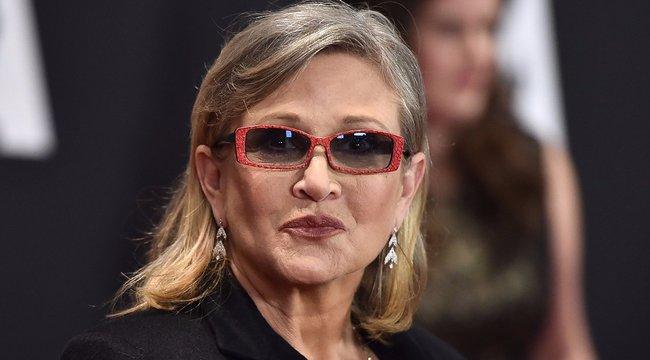 Csak drogokkal tudta elviselni a valóságot Carrie Fisher