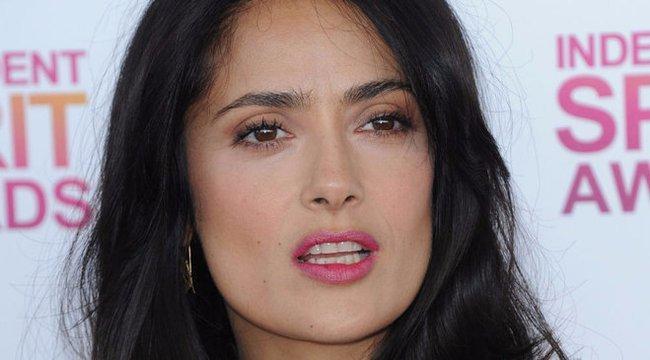 Így néz ki Salma Hayek smink nélkül