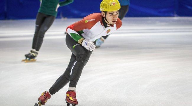 Hálás a korcsolyatolvajnak Liu Shaolin Sándor