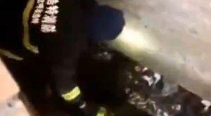 Rémálom: pottyantósba zuhant egy férfi