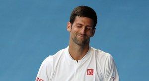 Djokovicsot is elérte a sztárok átka?