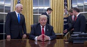 Bunkósággal mutatkozott be Trump