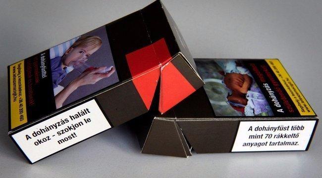 Vége a 19 szálas cigarettás dobozoknak