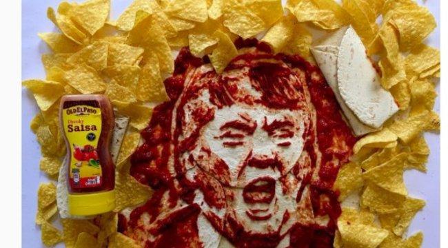 Rágcsálja el az elnök arcát Ön is!