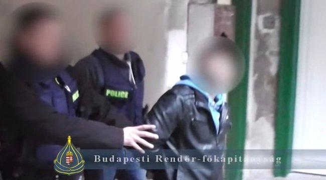 Szekrényből került elő a kilencszeresen körözött István - videó