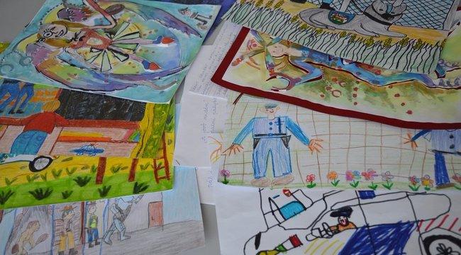 Így rajzolnak szép határzárat a magyar gyerekek