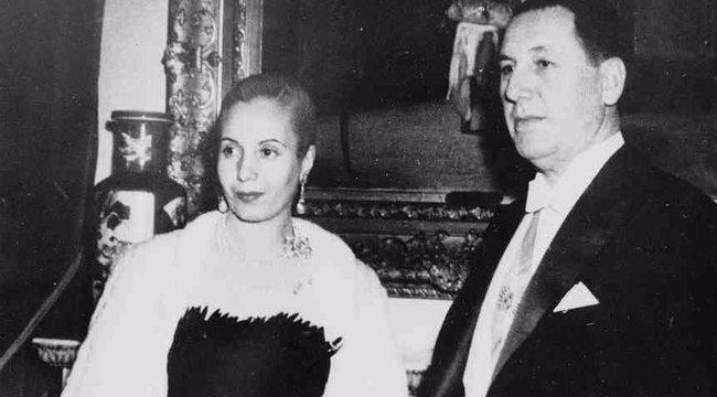 Nagy szerelmek: Evita kiszabadította férjét, aki meg sem siratta