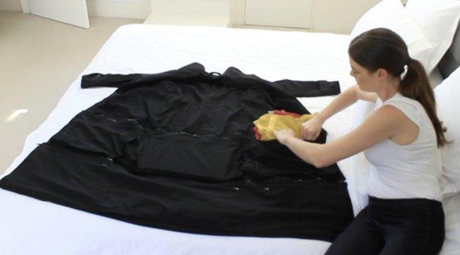 Itt a megoldás, hogy elférjünk a legkisebb táskával is a repülőn