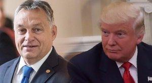 Trumptól kapott levelet Orbán Viktor