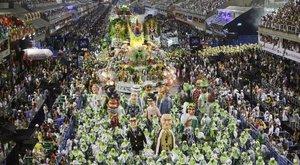 Baleset a riói karneválon