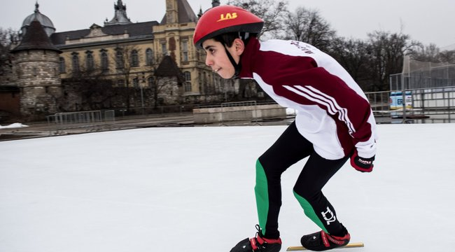 Félig szír fiú a a speciális olimpia magyar esélyese