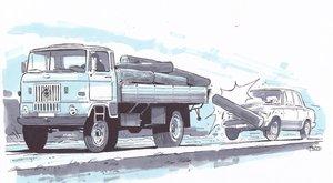 Nincs tettes, nem fizet a biztosító:90-nel rohant a farönknek Zsuzsa autója