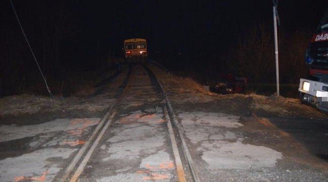 Halálos vonatgázolásNyírbátornál