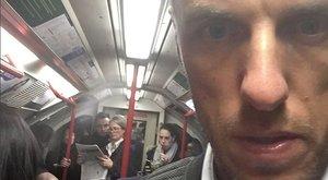 40 évesen először utazott metróval a United korábbi focistája, eléggé lesokkolta