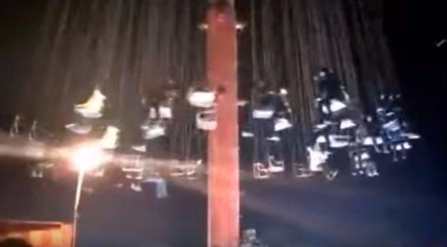 Sokkoló körhinta: kilenc sérült a vidámparkban - videó