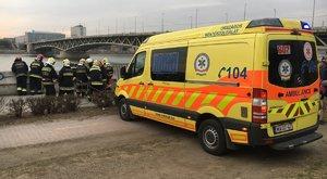 Durva: 10 métert zuhant egy ember a Petőfi hídról