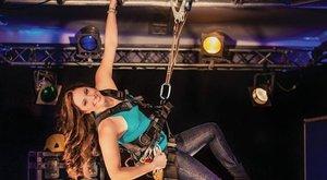 80 méter magasba is felmászik a magyar Póklány