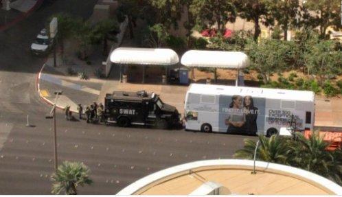 Buszon lövöldözött egy férfiLas Vegasban – egy ember meghalt
