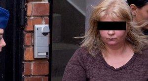 Puszit dobott ismerősének a tárgyalás előtt a gyerekgyilkos anya
