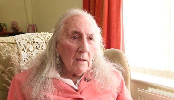 90 évesen lett boldog nő a volt katona
